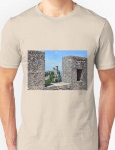 San Marino landscape with tower. Unisex T-Shirt