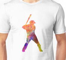 Baseball player waiting for a ball Unisex T-Shirt