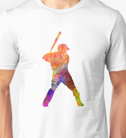 Baseball player waiting for a ball Unisex T-Shirt