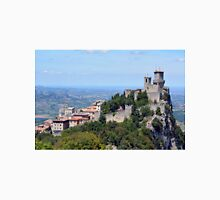 San Marino landscape with tower. Unisex T-Shirt
