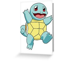 Squirtle Greeting Card