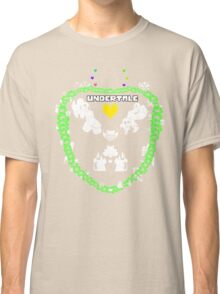 Undertale Green Flower Classic T-Shirt