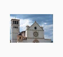White church from Assisi. Unisex T-Shirt