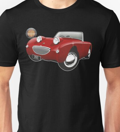 Austin Healey Sprite mark 1 red Unisex T-Shirt