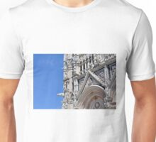 Detail of basilica from Siena with decorations. Unisex T-Shirt