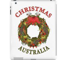 Christmas Wreath Australia iPad Case/Skin