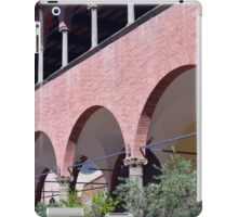 Building with red brick facade and arches in Siena. iPad Case/Skin