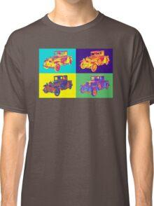 Colorful 1930 Model A Ford Pickup Truck Pop Art Classic T-Shirt
