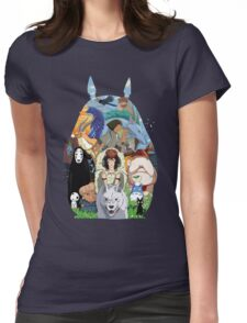 Studio Ghibli Womens Fitted T-Shirt