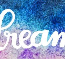 watercolor dream Sticker