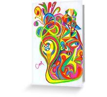 Rainbow Inside Greeting Card