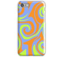 Swirly colors iPhone Case/Skin