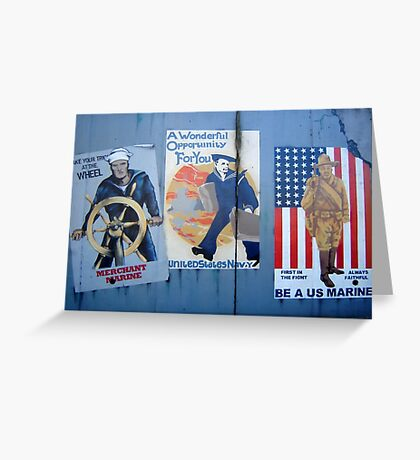 A Wonderful Military Opportunity For You Greeting Card