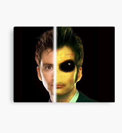 Doctor Who Alien - Tenth Doctor Canvas Print