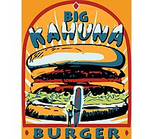 Big Kahuna Burger Pulp Photographic Print