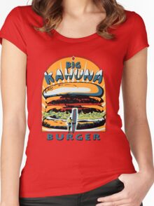 Big Kahuna Burger Pulp Women's Fitted Scoop T-Shirt