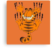 garfield spedy wall Canvas Print