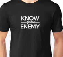 KNOW YOUR ENEMY FUNNY LOGO Unisex T-Shirt