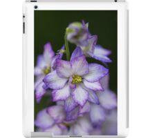 Purple Delphinium Spike iPad Case/Skin
