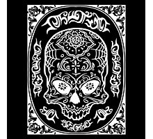 Skull Lace Photographic Print