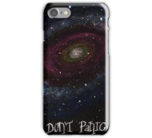 The Hitchhiker's Guide to the Galaxy Tshirt , Don't Panic iPhone Case/Skin