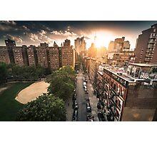 chinatown in new york Photographic Print
