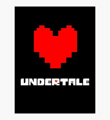 Undertale XVI Photographic Print