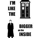 Like the TARDIS - Doctor Who by FandomFrenzy
