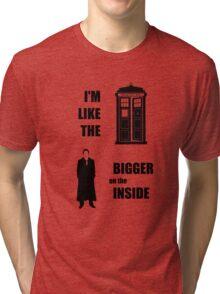 Like the TARDIS - Doctor Who Tri-blend T-Shirt
