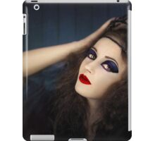 Portrait of young girl in gothic dress iPad Case/Skin