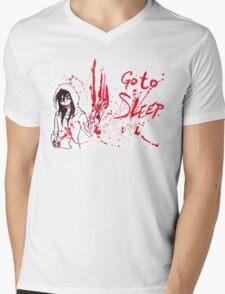 Jeff The Killer: Go To Sleep Mens V-Neck T-Shirt