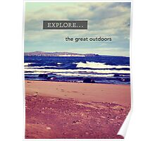 Explore The Great Outdoors Poster