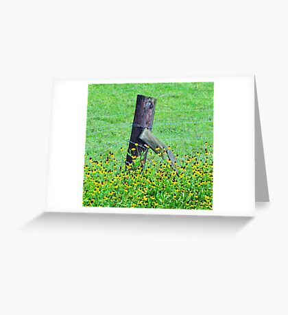 """Louisiana Wildflower"" Greeting Card"
