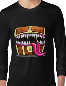 Mimic Chest - Dungeons & Dragons Monster Loot Long Sleeve T-Shirt