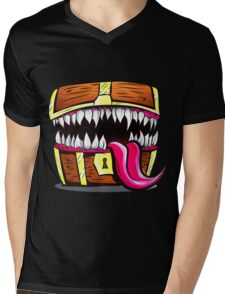 Mimic Chest - Dungeons & Dragons Monster Loot Mens V-Neck T-Shirt