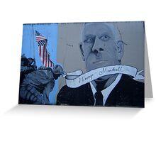 World War II - George Marshall Greeting Card