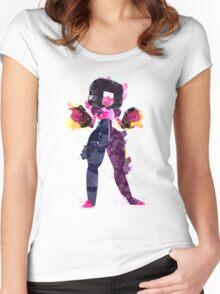 Garnet WC Women's Fitted Scoop T-Shirt