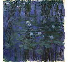 Claude Monet - Blue Water Lilies (1916 - 1919)  Photographic Print