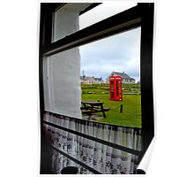 Red Telephone Booth Poster