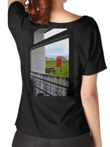 Red Telephone Booth Women's Relaxed Fit T-Shirt