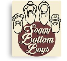 Soggy Bottom Boys O Brother Canvas Print