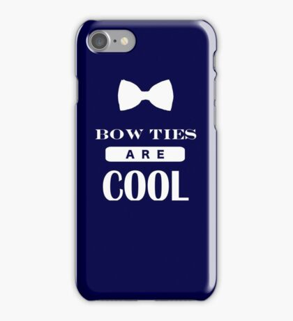 Bow Ties Are Cool - Doctor Who iPhone Case/Skin