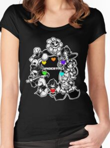 Undertale XXV Women's Fitted Scoop T-Shirt