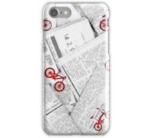 Rueda de prensa iPhone Case/Skin