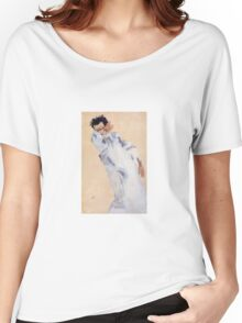 Egon Schiele - Self Portrait 1912 Women's Relaxed Fit T-Shirt