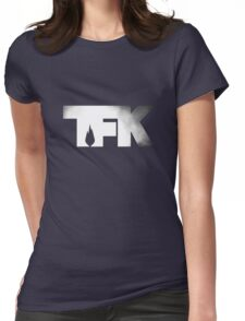 TFK - Smoke Womens Fitted T-Shirt