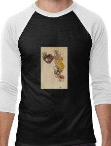 Egon Schiele - Peasants Jug 1918 Men's Baseball ¾ T-Shirt