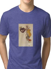 Egon Schiele - Peasants Jug 1918 Tri-blend T-Shirt