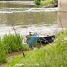 Fishing on the Ille et Vilaine in Brittany France by Buckwhite