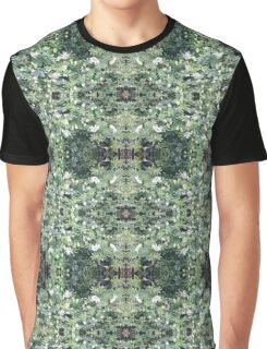 Clematis Fractal 1b - Horizontal - from Flower Photo Graphic T-Shirt